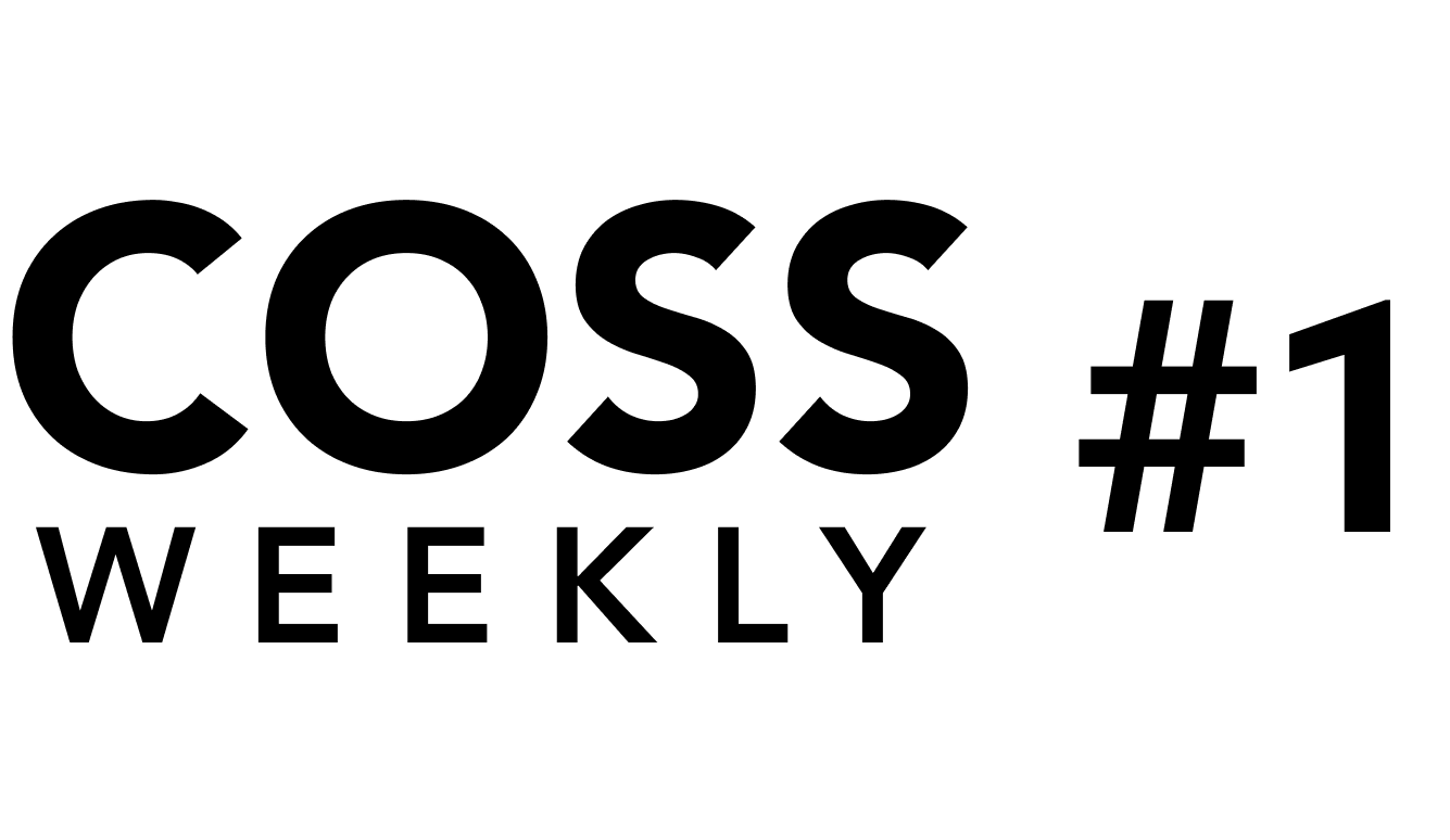 COSS Weekly Issue #1 💥