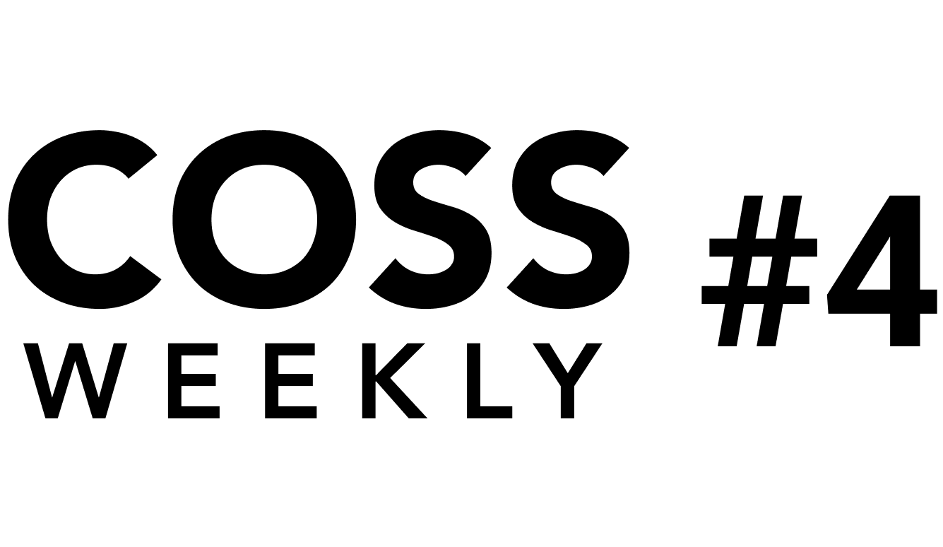 COSS Weekly Issue #4 💥